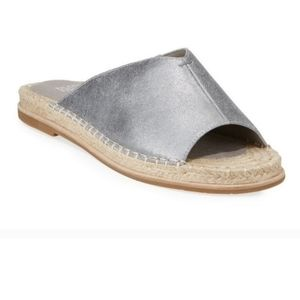 Eileen Fisher Milly Pewter Espardille Sandal